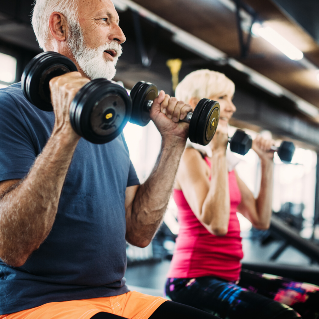 Stronger and Stronger class at Your Health Hub