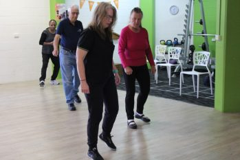 Dancing with Parkinson's class at Your Health Hub